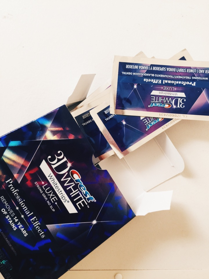 Crest 3D Whitestrips Professional EffectsReview